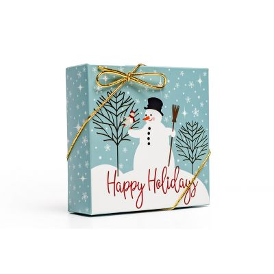 Snowman Happy Holidays Assorted Chocolate Box - Small